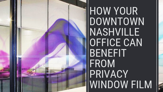 privacy window film nashville